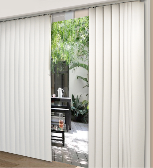 Centre Opening Vertical Blind