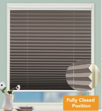 20mm TDBU Cordless Pleated Blind